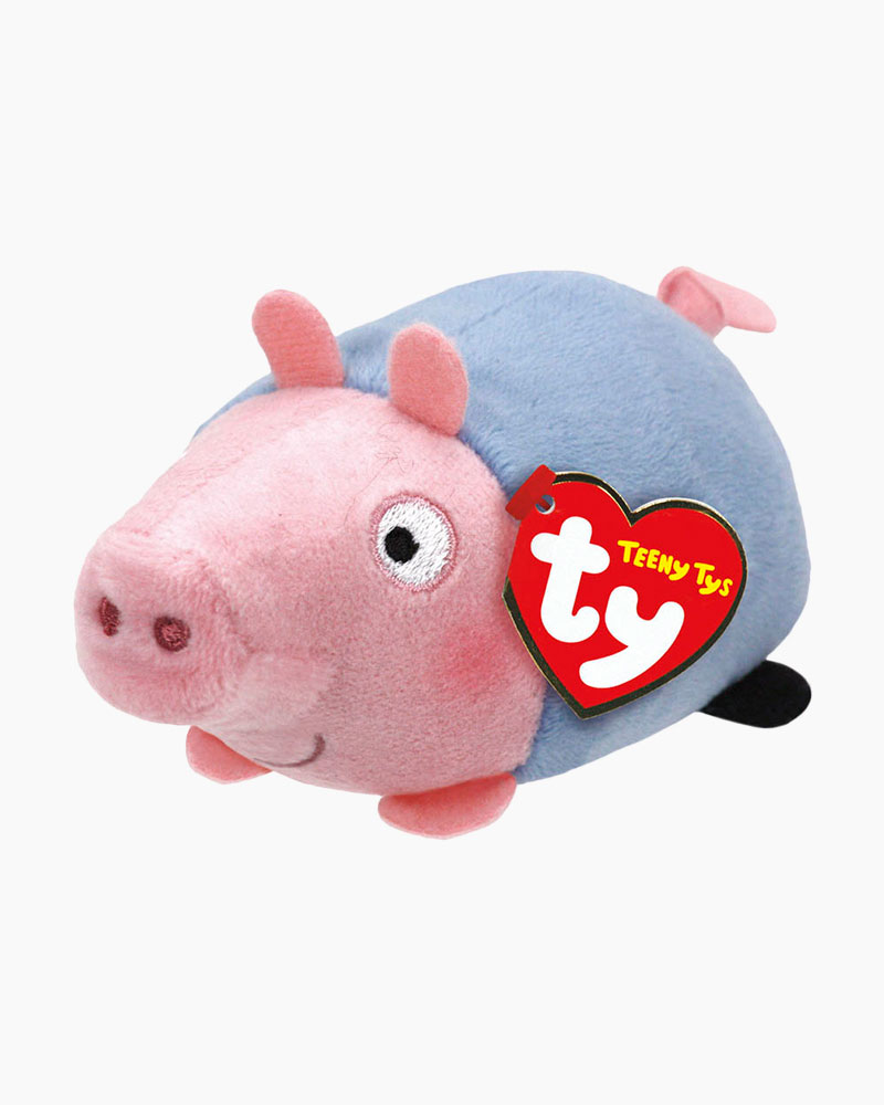 Ty Peppa Pig George Teeny Tys Plush