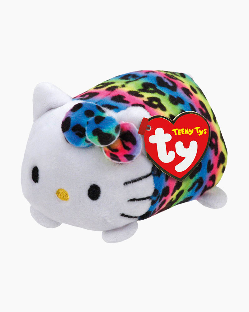 Ty Rainbow Hello Kitty Teeny Tys Plush