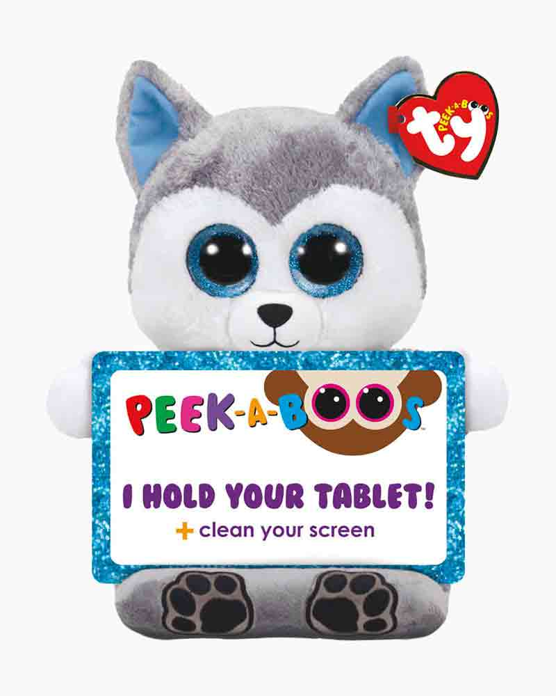 Ty Scout the Husky Peek-A-Boo Tablet Holder