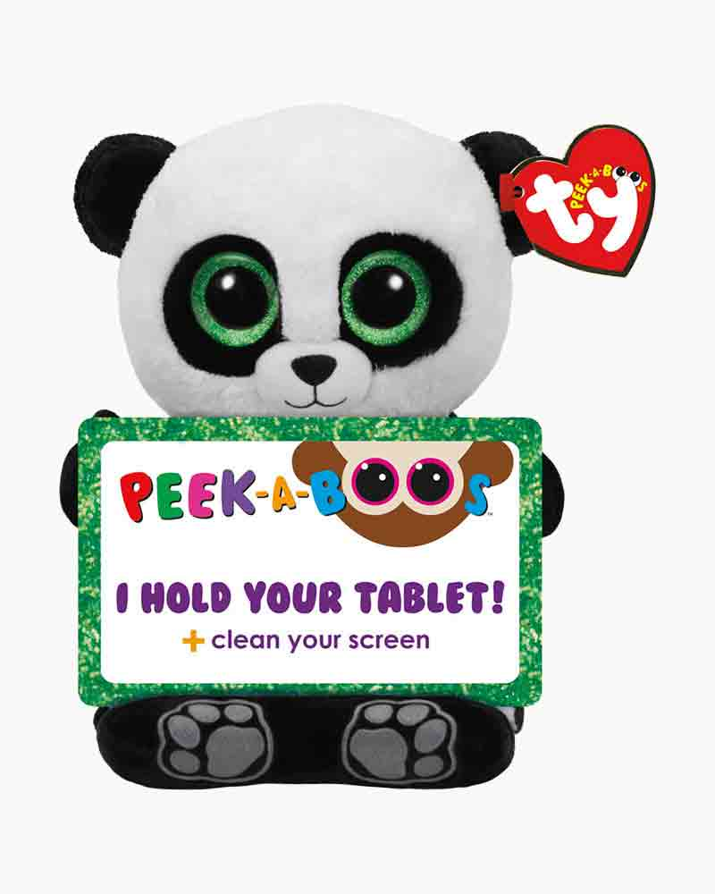 Ty Poo the Panda Peek-A-Boo Tablet Holder