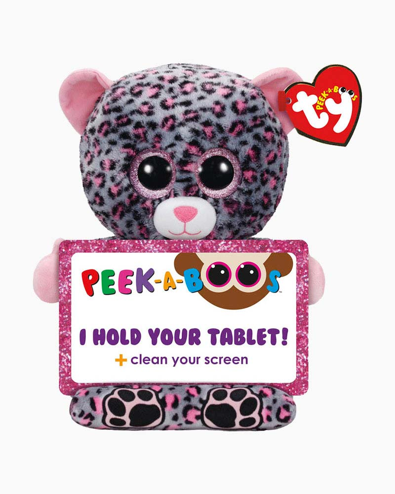 Ty Trixi the Leopard Peek-A-Boo Tablet Holder