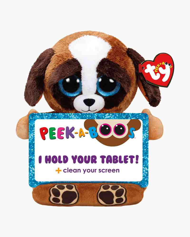 Ty Pups the Dog Peek-A-Boo Tablet Holder