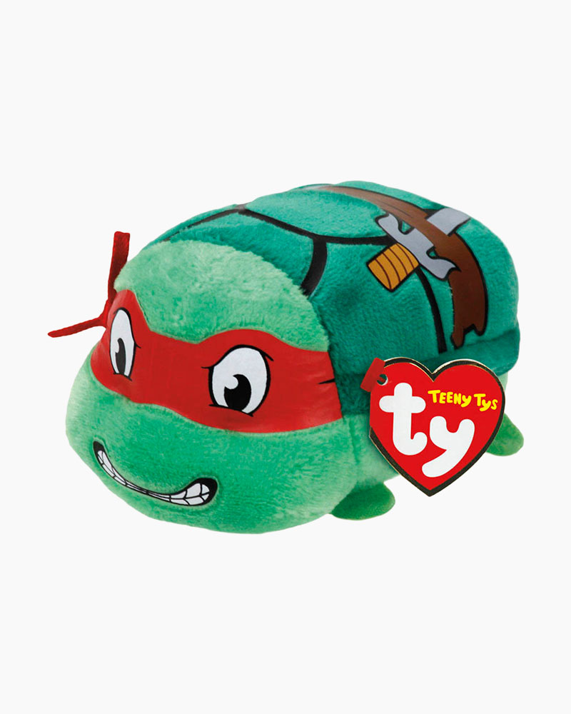 Ty Teenage Mutant Ninja Turtles Raphael Teeny Tys Plush