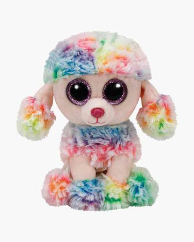 Rainbow the Multi Color Poodle Beanie Boo's Regular Plush