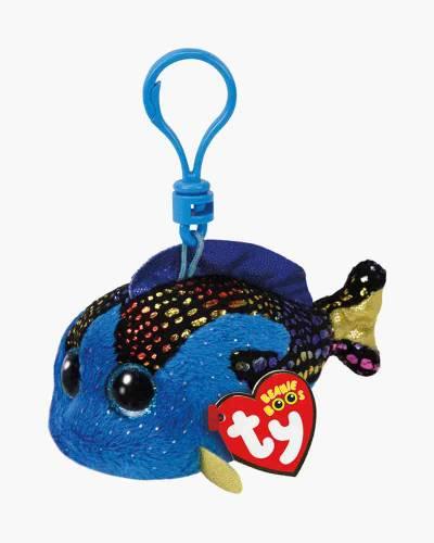 Aqua the Blue Fish Beanie Boo's Plush Clip