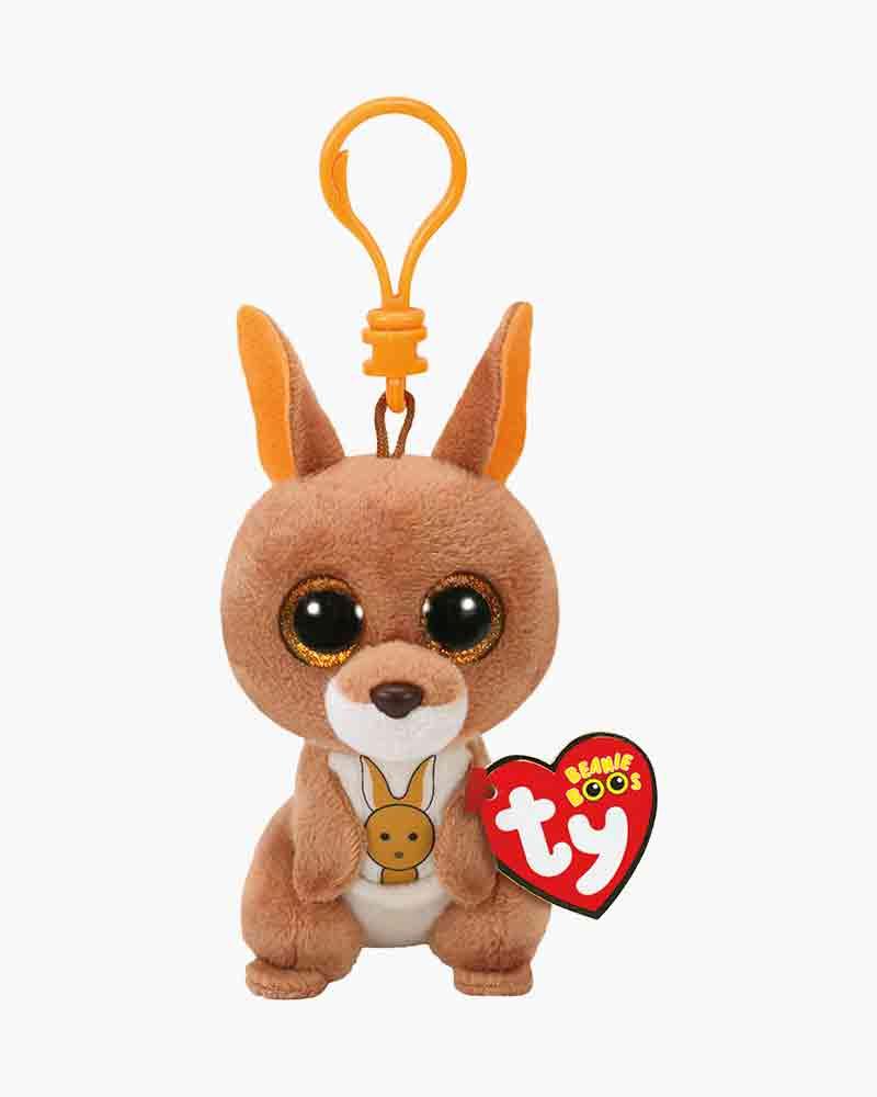 Ty Kipper The Kangaroo Beanie Boo S Plush Clip The Paper