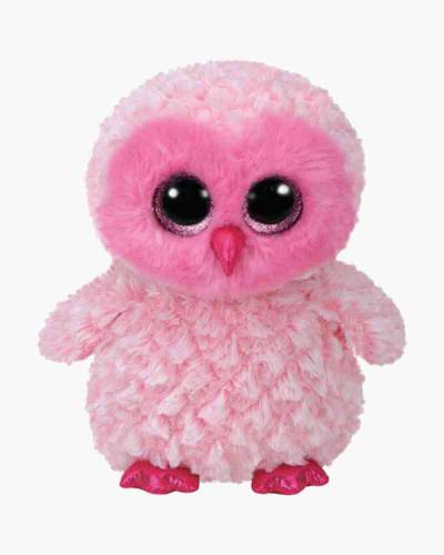 Twiggy the Pink Owl Beanie Boo's Large Plush