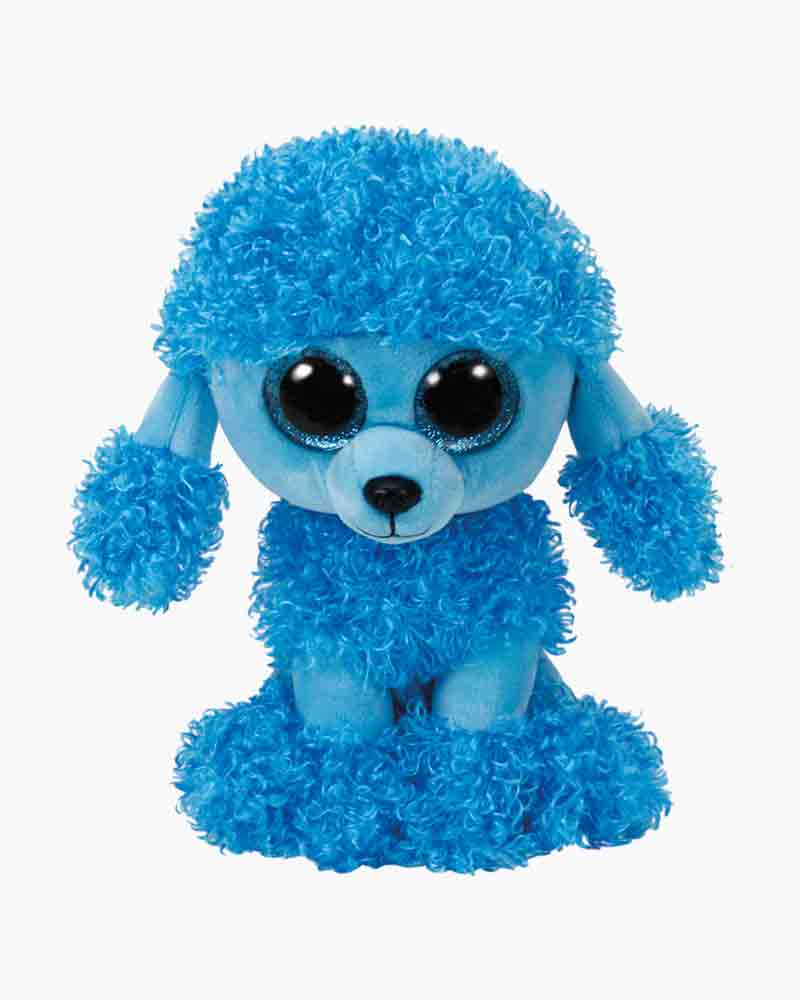 ddcbe90578b Ty Mandy the Blue Poodle Beanie Boo s Regular Plush