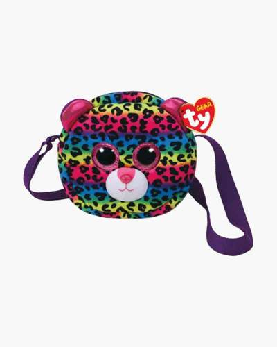 Dotty the Rainbow Leopard Ty Gear Stuffed Animal Purse