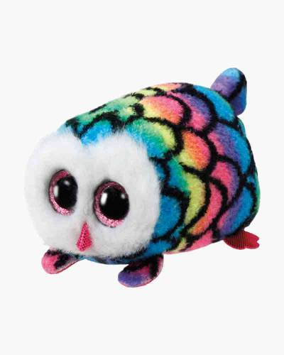 Hootie the Multicolor Owl Teeny Tys Plush