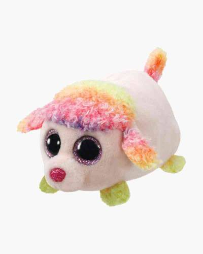 Floral the Poodle Teeny Tys Plush