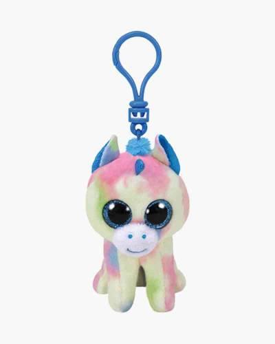 Blitz the Unicorn Beanie Boo's Plush Clip