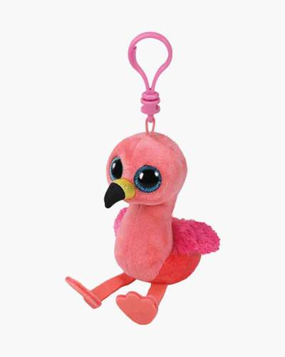 Gilda the Flamingo Beanie Boo's Plush Clip