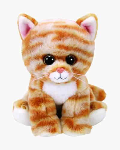 Cleo the Gold Tabby Cat Beanie Boo's Regular Plush