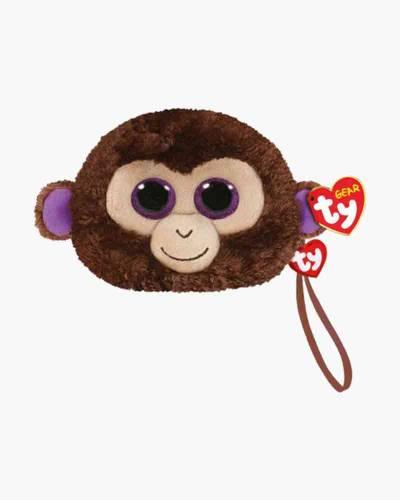 Coconut the Monkey Ty Gear Stuffed Animal Wristlet