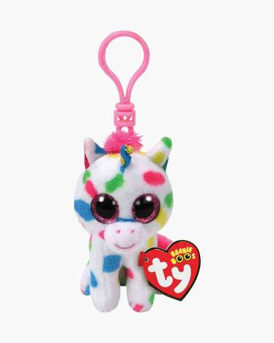 Harmonie the Speckled Unicorn Beanie Boo's Plush Clip