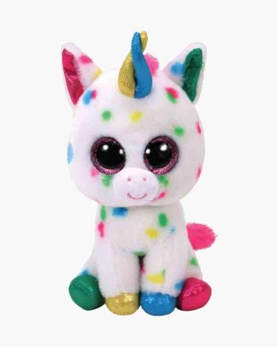 Harmonie the Speckled Unicorn Beanie Boo's Medium Plush