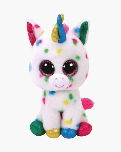 Harmonie the Speckled Unicorn Beanie Boo's Large Plush