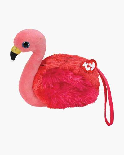 Gilda the Flamingo Ty Gear Stuffed Animal Wristlet