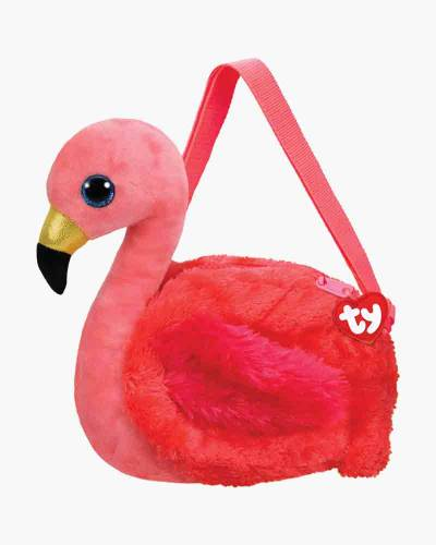 Gilda the Flamingo Ty Gear Stuffed Animal Purse