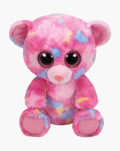Franky the Pink Bear Beanie Boo's Medium Plush