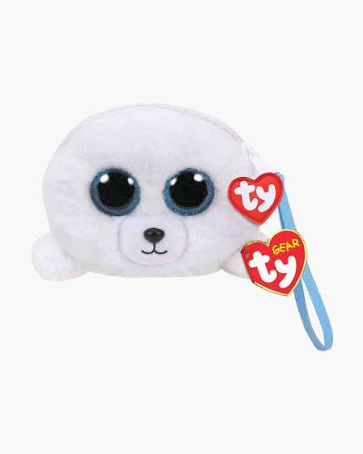 Icy the Seal Ty Gear Stuffed Animal Wristlet