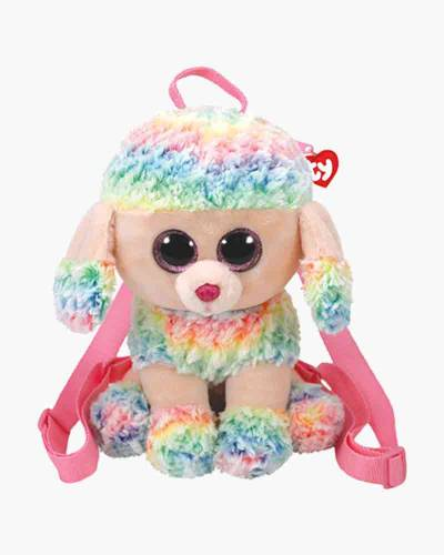 Owen the Rainbow Owl Ty Gear Stuffed Animal Backpack