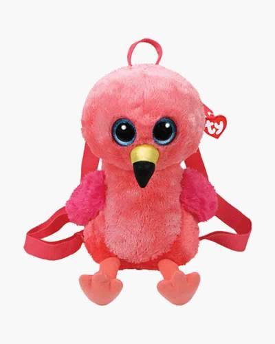 Gilda the Flamingo Ty Gear Stuffed Animal Backpack