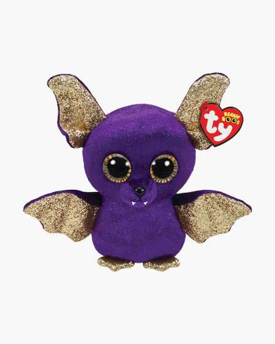 Count the Purple Bat Beanie Boo's Regular Plush