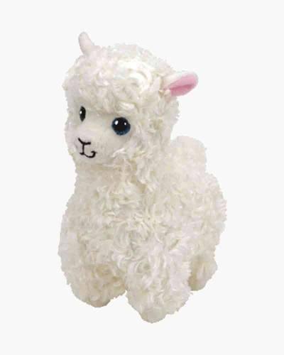 Lily the White Llama Beanie Boo's Medium Plush