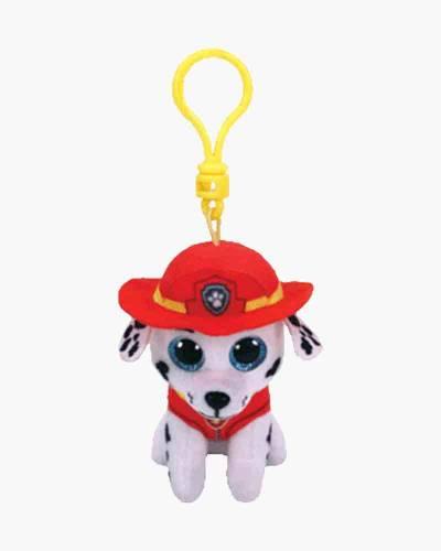 Paw Patrol Marshall Beanie Boo's Plush Clip