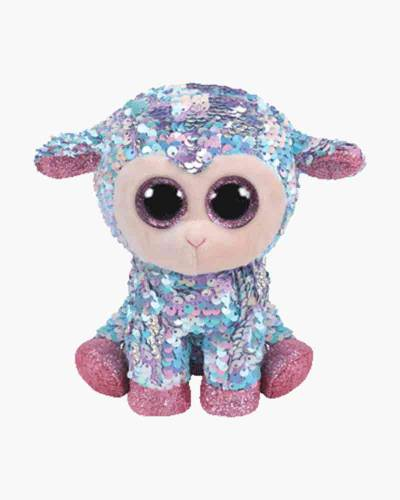 Tulip the Lamb Flippables Sequin Plush