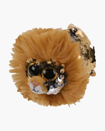 Regal the Lion Teeny Tys Flippable Seqin Plush