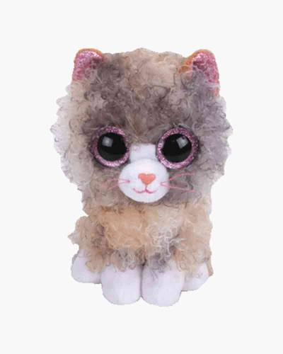 Scrappy the Curly-Haired Cat Bunny Beanie Boo's Regular Plush