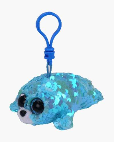 Waves the Seal Flippables Sequin Plush with Clip