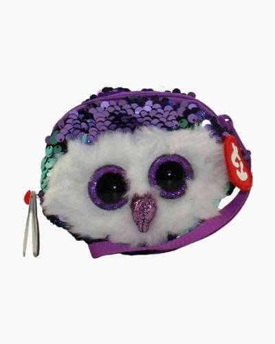 Moonlight the Owl Ty Fashion Flippy Sequin Wristlet