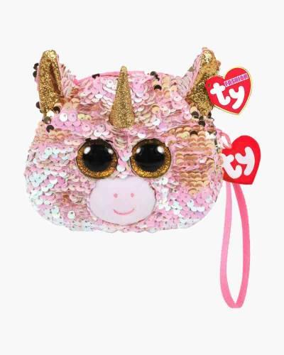 Fantasia the Unicorn Ty Fashion Flippy Sequin Wristlet