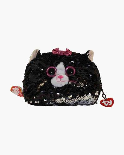 Kiki the Cat Ty Fashion Flippy Sequin Accessory Bag