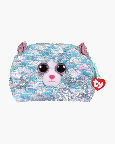 Whimsy the Cat Ty Fashion Flippy Sequin Accessory Bag