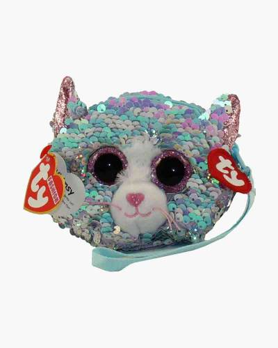 Whimsy the Cat Ty Fashion Flippy Sequin Wristlet