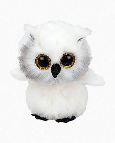Austin the White Owl Beanie Boo's Regular Plush