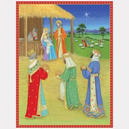 Caspari Nativity Boxed Cards