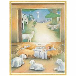 Caspari Sleep in Heavenly Peace Boxed Cards
