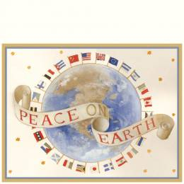 Caspari Peace on Earth Boxed Cards