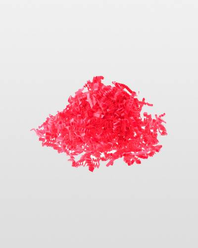 Hot Pink Krinkled Shred 2 oz