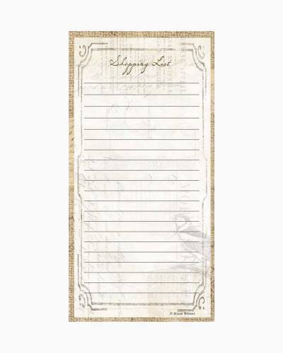 Perfect Setting Magnetic Shopping List Pad