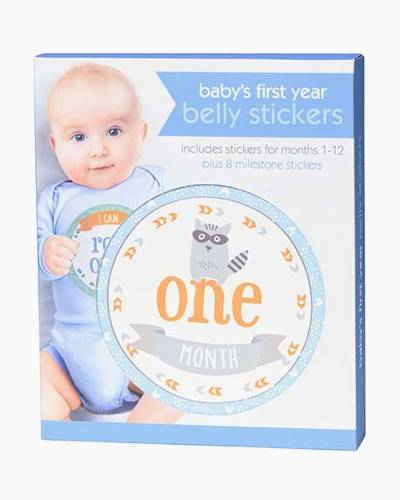Woodland First Year Belly Stickers