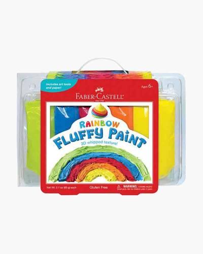 Rainbow Fluffy Paint Craft Kit