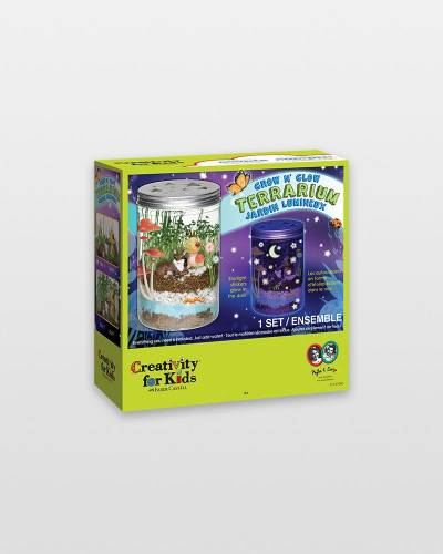 Grow 'n Glow Terrarium Craft Kit