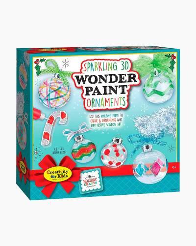 Sparkling 3D Wonder Paint Ornaments Craft Kit
